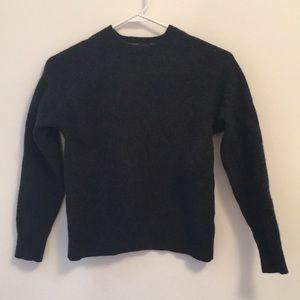 J.Crew dark grey wool sweater